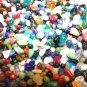 Mini Glass Pebbles Crafts Aquarium Fairy Moon Stones Jewels Gem Vase Filler