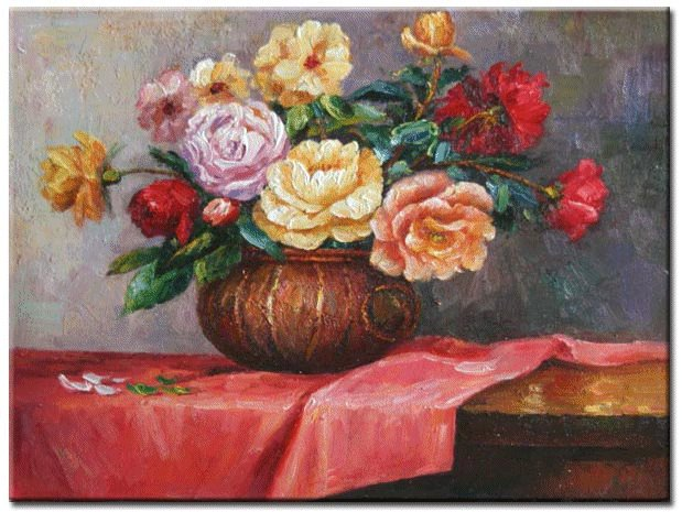 LARGE HIGH QUALITY CANVAS OIL PAINTINGS, ART