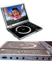 "Apex PD840 Portable DVD Player with 8"" 16:9 Widescreen TFT LCD"