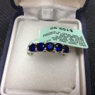 CLEARANCE!!!!!!!!Sapphire Ring RND size 7