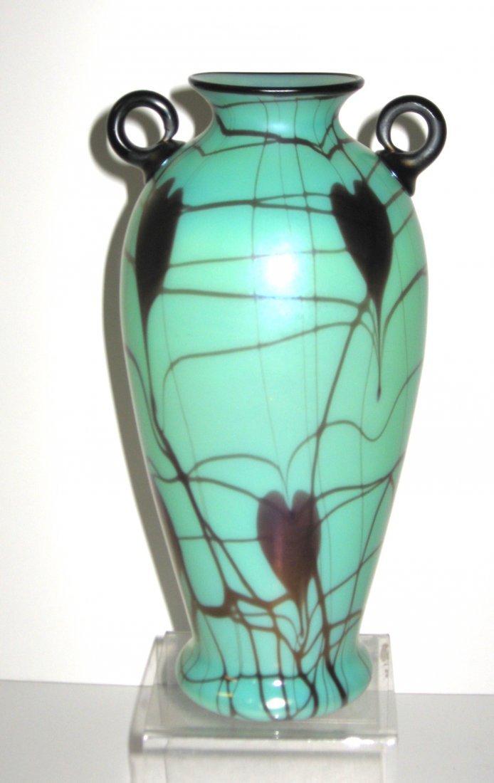 Rare Turquoise Fention Vase