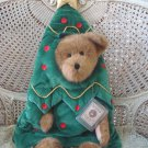 BOYDS MR. TANNENBAUM QVC EXCLUSIVE HUGE CHRISTMAS TREE PEEKER BEAR **NEW**