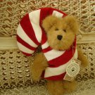 "BOYDS CC PEEKERS 6"" PEEKER BEAR CANDY CANE CHRISTMAS BEAR *NEW STORE STOCK*"