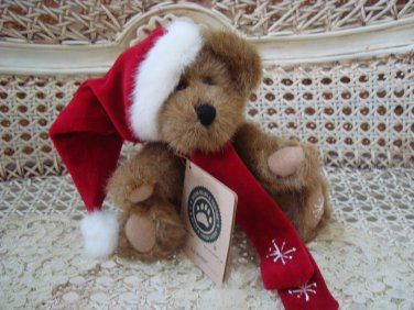 "BOYDS AJ BLIXEN 8"" HOLIDAY CHRISTMAS SANTA BEAR *NEW STORE STOCK*"