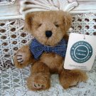 """BOYDS HASTINGS P BEARSFORD 6"""" TALL NUTMEG BEAR WITH BOW ***NEW STORE STOCK**"""