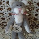 "BOYDS TURNER F WUZZIE 3"" TALL WUZZIE GREY CAT RETIRED **NEW STORE STOCK*** CUTE"
