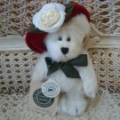 """BOYDS COLETTE DUBEARY 6"""" BEAR WITH HAT **NEW STORE STOCK**"""