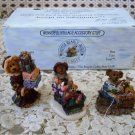BOYDS TED E BEAR SHOP CHRISTMAS VILLAGE FIGURINES *NEW STORE STOCK**
