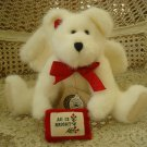 "BOYDS ALISSA ANGELHOPE 12"" WHITE CHRISTMAS ANGEL BEAR *NEW STORE STOCK*"
