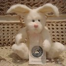 "BOYDS FLUFFIE BUNNYHOP 8"" BUNNY EASTER **NEW STORE STOCK***"