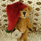 "BOYDS TWIZZLE F WUZZIE  3"" TALL CHRISTMAS ELF BEAR  RETIRED **NEW STORE STOCK**"