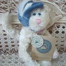 "BOYDS CLAUDINE DE LA PLUMTETE 6"" RETIRED CAT WITH HAT  **NEW STORE STOCK**"