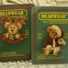 BOYDS PINS SET OF 2 RETIRED CHRISTMAS PINS BEAR & MOOSE **NEW STORE STOCK**