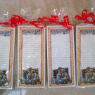 SET OF 4 BOYDS BEARS TEACHER MAGNETIC PAPER PADS **GREAT TEACHER GIFTS***