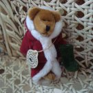 "BOYDS 3 1/2"" TALL SANTA WUZZIE BEAR  RETIRED **NEW STORE STOCK**"