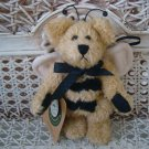 "BOYDS BIBI BUZZBY 5"" RETIRED ANGEL BEE BEAR ORNAMENT ***NEW STORE STOCK***"
