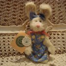 "BOYDS COUSIN ROSE ANJANETTE 6"" BUNNY EASTER **NEW STORE STOCK***"