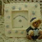 BOYDS GENEVIEVE BERRIMAN FROSTY MIRACLE RESIN MINI FRAME  **NEW STORE STOCK**