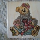 BOYDS BEARS BAILEY HEART'S DESIRE RUBBER STAMP RETIRED **NEW STORE STOCK**