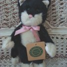 "BOYDS BYRON RETIRED 8"" TALL BLACK CUTE CAT **NEW STORE STOCK**"