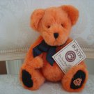 "BOYDS PUNKLEY 8"" TALL HALLOWEEN BEAR WITH PUMPKIN ON FOOT  *NEW STORE STOCK*"