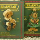 BOYDS PINS SET OF 2 RETIRED CHRISTMAS PINS GENEVIEVE & FRASIER *NEW STORE STOCK*