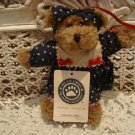 BOYDS JOSANNA JAVA RETIRED FOLK ART BEAR ORNAMENT **NEW STORE STOCK***