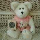 "BOYDS LIBBY B. BUNSTER 10"" EASTER BEAR WITH BUNNY SWEATER  **NEW STORE STOCK***"