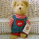 "BOYDS JR MINTLY 10"" TALL PEPPERMINT CANDY CHRISTMAS BEAR  *NEW STORE STOCK*"
