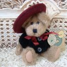 """BOYDS ELOISE WILLOUGHBY 6"""" CUTE BEAR WITH HAT RETIRED ***NEW STORE STOCK**"""