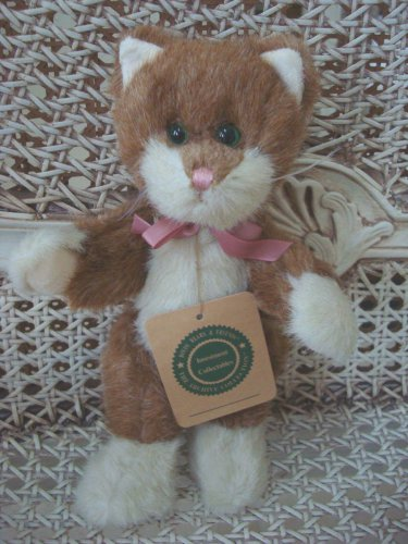 """BOYDS BROWNING 8"""" RETIRED ADORABLE CAT **NEW STORE STOCK**"""