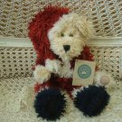 "BOYDS LARGE 12"" TALL NIKLAS CHRISTMAS SANTA BEAR **NEW STORE STOCK** SO CUTE"