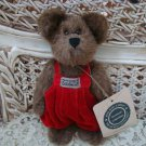 "BOYDS CLARK S. BEARHUGS 6"" PLUSH RETIRED BEAR VALENTINE'S DAY **NEW STORE STOCK*"