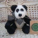 "BOYDS YOLANDA 6"" RETIRED BLACK & WHITE PANDA BEAR **SO CUTE***NEW STORE STOCK***"