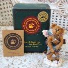 BOYDS VALENTINO CUTE VALENTINE CUPID BEAR BEARSTONE *NEW IN BOX* RETIRED