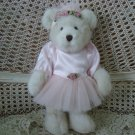 "BOYDS 12"" TALL GORGEOUS BEAR WITH PINK BALLERINA OUTFIT  *SO CUTE* **NEW**"