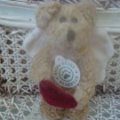 "BOYDS ARIEL ANGEL BEAR WITH HEART VALENTINE 5"" ORNAMENT **NEW STORE STOCK*"