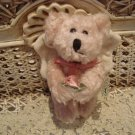 "BOYDS ORION 5"" RETIRED PEACH ANGEL BEAR ORNAMENT ***NEW STORE STOCK***"