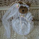 ADORABLE BRIDE DRESS & VEIL OUTFIT FOR BOYD'S BEARS ****SO CUTE****