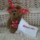 ADORABLE BEACH GIRL BIKINI OUTFIT WITH TOWEL FOR BOYD'S BEARS ****SO CUTE****