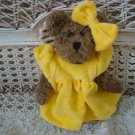 ADORABLE YELLOW DRESS OUTFIT & BOW FOR BOYD'S BEARS ****SO CUTE****