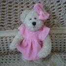 ADORABLE PINK DRESS OUTFIT & BOW FOR BOYD'S BEARS ****SO CUTE****