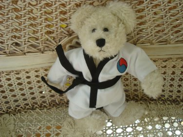 ADORABLE TAE KWON DO OUTFIT FOR BOYD'S BEARS ****SO CUTE****