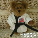 ADORABLE USA KARATE OUTFIT FOR BOYD'S BEARS ****SO CUTE****