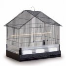 "Prevue Hendryx House Style Cockatiel Cage 22"" L x 15"" W x 23"" H 3 Feed 2 Perches"