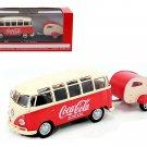 1962 Volkswagen Samba Bus 100 Years Anniversary of the Coca Cola Bottle 1/43