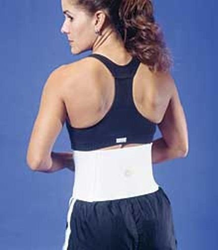 BIOflex Magnetic Active Back L/XL White BIO-50006