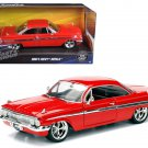 Dom's Chevrolet Impala Red Fast & Furious F8 1/24 Diecast Model Car by Jada