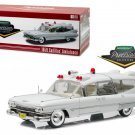 1959 Cadillac Ambulance White Precision Collection Limited Edition 1/18 Diecast