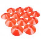 Crown Sporting Goods Set of 12 Two-Inch Tall Orange Field Cones
